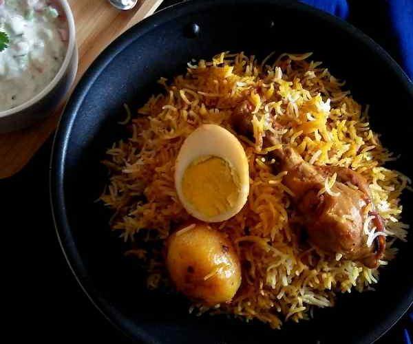 Chicken Biryani Calcutta Style e1545633160126