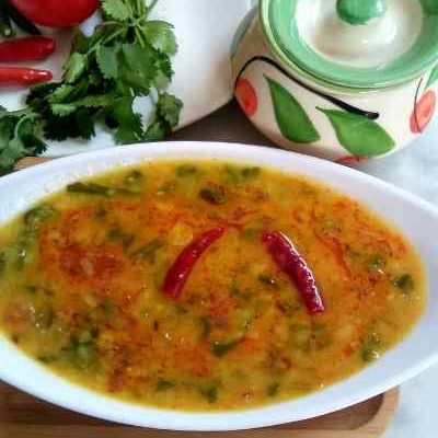 Arhar dal Palak, Simple Spinach Dal Recipe