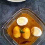Dim posto, Egg curry with poppy seeds paste, Egg curry in poppy seeds gravy