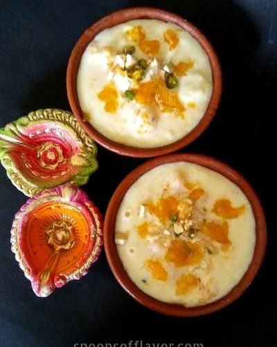 Orange Phirni