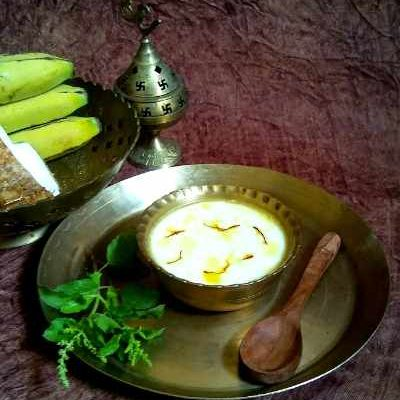 A auspicious concoction used in Hindu rituals.