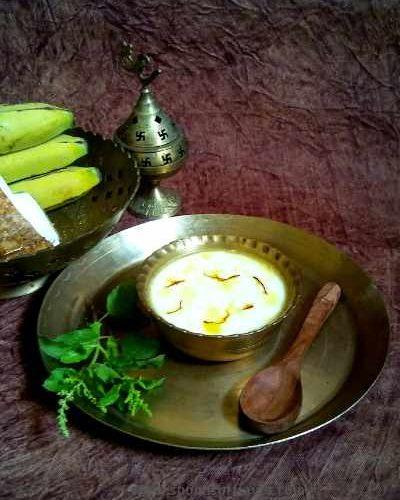A auspicious concoction used in Hindu rituals.