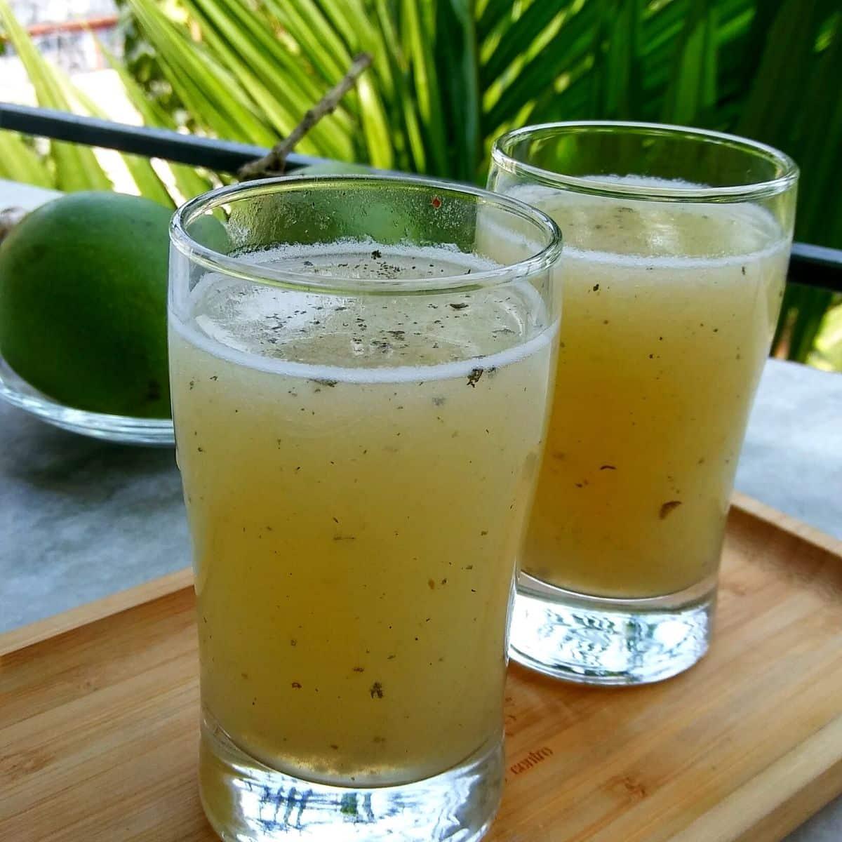 Aam Pora Sharbat Recipe