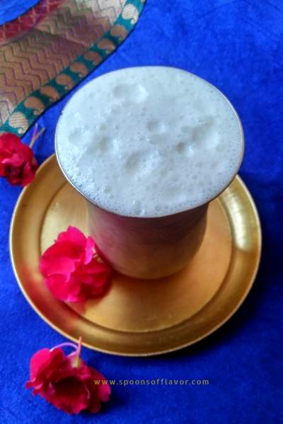 A light, refreshing Indian yogurt based summer drink.