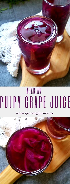 Arabian Pulpy Grape Juice | Pulpy Grape Juice -Spoons Of Flavor