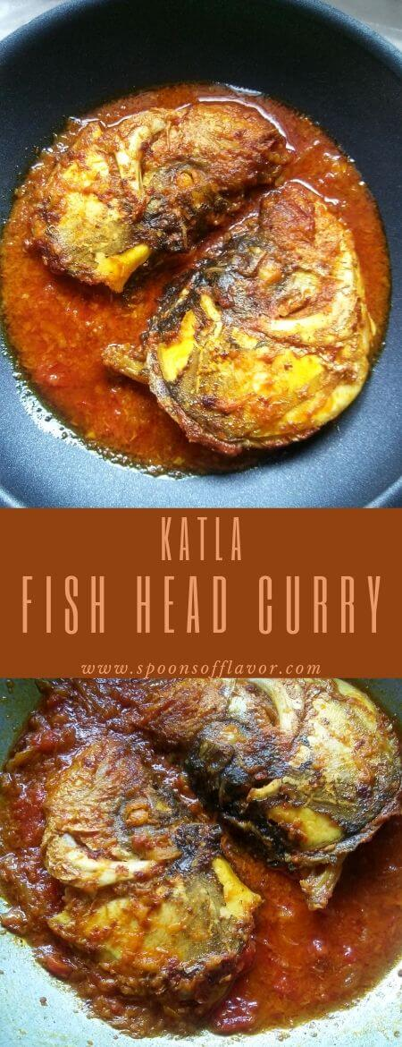Katla Fish Head Curry Recipe