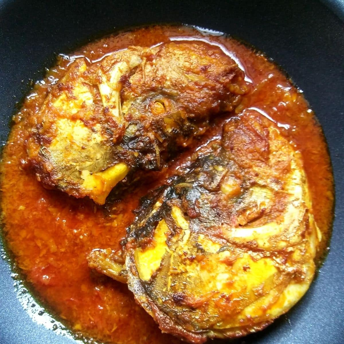 Katla Fish head Curry