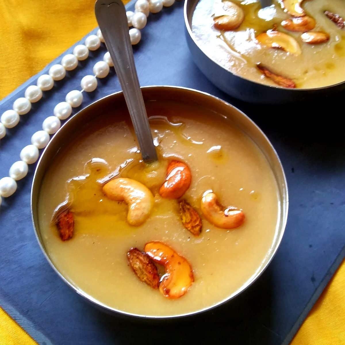 Pasi Paruppu Payasam Recipe | Moong Dal Payasam
