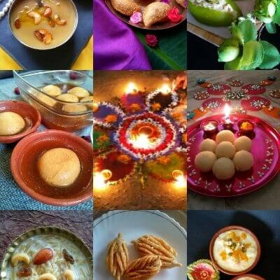 Diwali Sweets and Savories