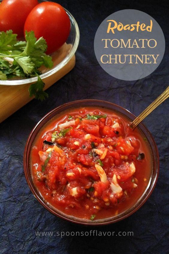 Roasted Tomato Chutney 3