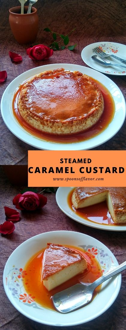 Steamed Caramel Custard